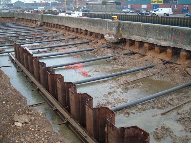 Installation Northern Sheet Piles Ltd