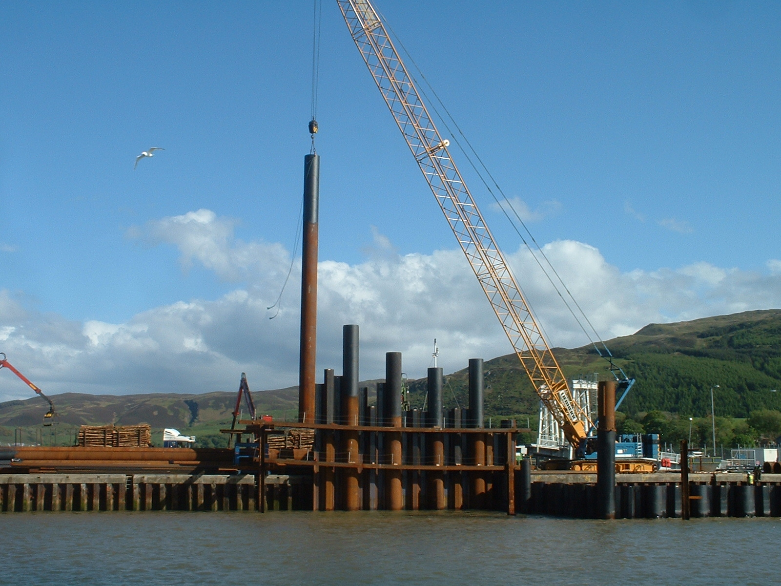 Installation Northern Sheet Piles Ltd